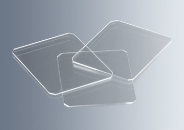 Haemacytometer cover glasses 22x22mm CE 10 pcs./box, 22x22mm