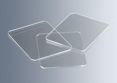Haemacytometer cover glasses 24x24mm CE 10 pcs./box, 24x24mm