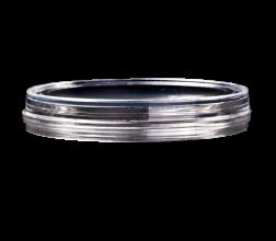 HBST-5030 dish&lid, 35x10mm., glass aperture 30 mm.