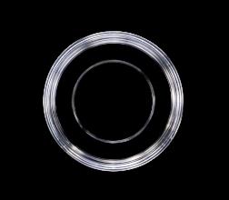 GWST-5030 dish, top view, 50x7mm., aperture 30 mm.