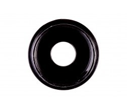 GWSB-3512/1.5-0.005. Black dish (&lid), size 35x10 mm. Glass aperture 12 mm.