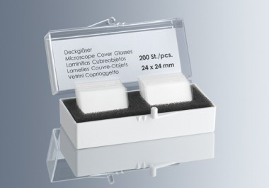 Cover glasses tow-part-box