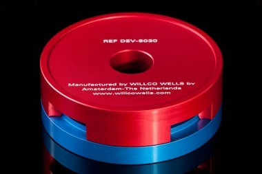 Kit 'Assembly Device', to assemble your own WillCo-dish®KIT dishes, accurately and safe.