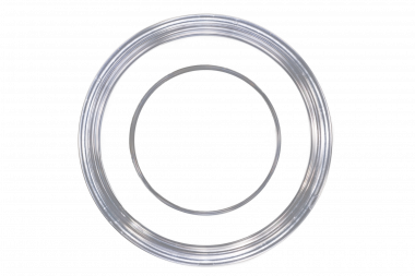 'Series-5030' dish, bottom view. Glass aperture 30 mm.