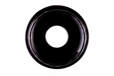 GWSB-3512. Black dish (&lid). Glass aperture 12 mm.
