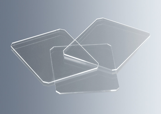 Cover glasses 0.4 mm for counting chambers and haemacytometers